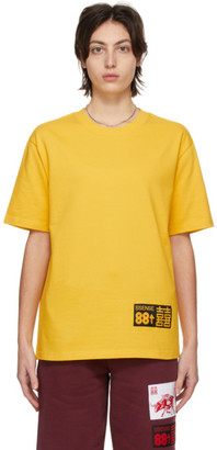 SSENSE WORKS SSENSE Exclusive 88rising Yellow Double Happiness T-Shirt