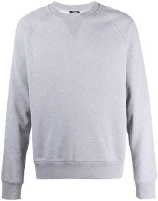 Balmain Logo-Lettering Sweatshirt
