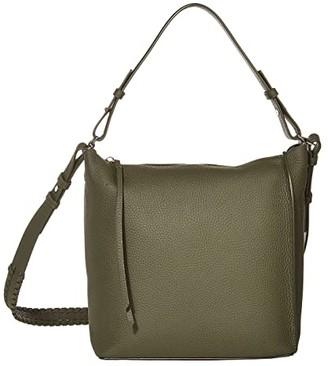 AllSaints Kita Crossbody (Khaki Green) Cross Body Handbags