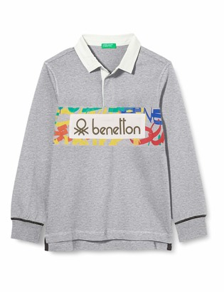 United Colors of Benetton (Z6ERJ) Boy's Maglia Polo M/l Shirt