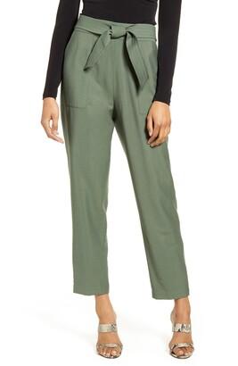 Leith Tie Waist Utility Pants