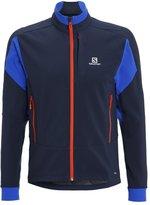 Salomon Momemtum Sports Jacket Big Bluex/blue Yonder