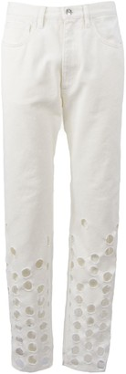 Maison Margiela White Cotton Jeans