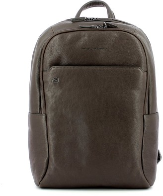 Piquadro Mens Brown Backpack