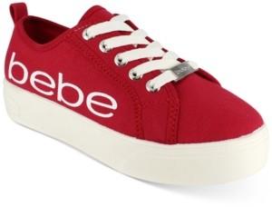 Bebe Destini Lace-Up Sneakers Women's Shoes