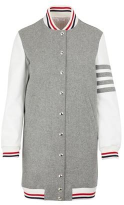 Thom Browne Long wool jacket