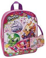 Shopkins Girls' 10-Inch Mini Backpack with Coin Purse - Pink