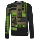 Versace Collection Versace Collection Mosiac Knit