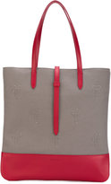 Tomas Maier palms patches shopping bag - women - Leather/Nylon - One Size