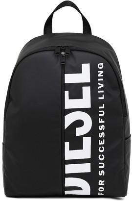 Diesel Mens Black Backpack