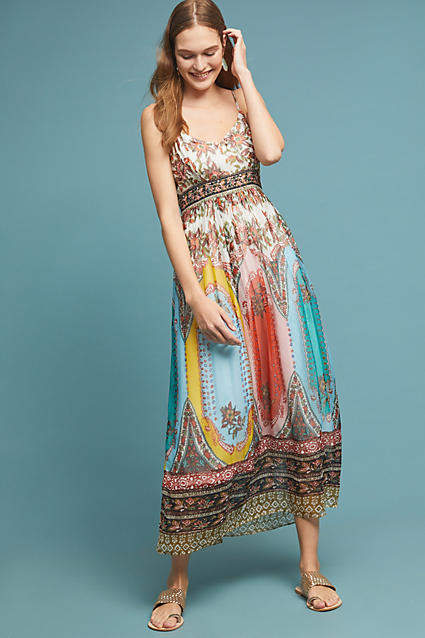 Anthropologie Virginia Dress