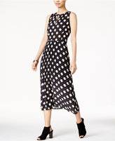 Maison Jules Printed Midi Dress, Only at Macy's