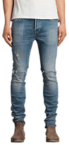 Allsaints Allsaints Dak Cigarette Skinny Jeans, Indigo Blue