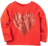 Carter's French Terry Gold Heart Top