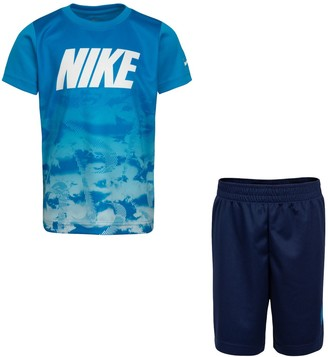 Nike Boys 4-7 Abstract Graphic Tee & Shorts Set