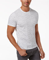 Alfani Men's Geometric Print T-Shirt, Only at Macy's