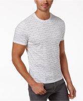 Alfani Men's Stretch Geometric Print T-Shirt, Only at Macy's