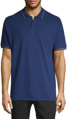 Ben Sherman Cotton Short-Sleeve Polo