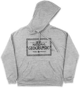 Disney National Geographic x Parks Project Legacy Border Pullover Hoodie for Adults