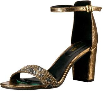 Kenneth Cole Reaction Women's Rise Like The Sun Embellished Block Heel Sandal Heeled