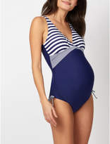 George Maternity Striped Swimsuit