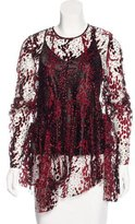 Opening Ceremony Lace Metallic-Accented Top w/ Tags