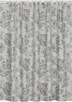 JCPenney Creative BathTM Sketchbook Botanical Toile Shower Curtain