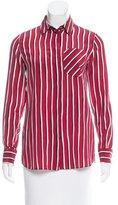 Altuzarra Silk Striped Top