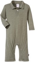 City Threads Polo Rompers (Baby) - Turtle-6-9 Months