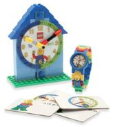Lego Time Teacher Boy's Mini Watch & Clock