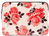 Kate Spade Rose Laptop Sleeve - Pink