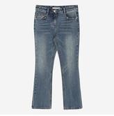 ATPA7B405B2 blue boot cut denim pants