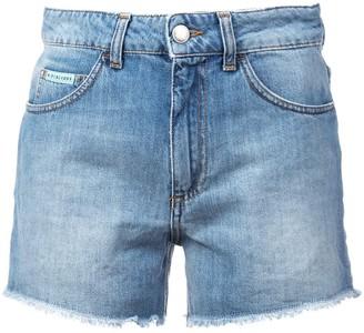 ALEXACHUNG High Rise Shorts