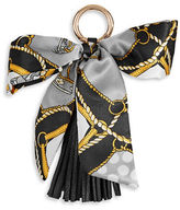 Expression Bow and Tassel Keychain