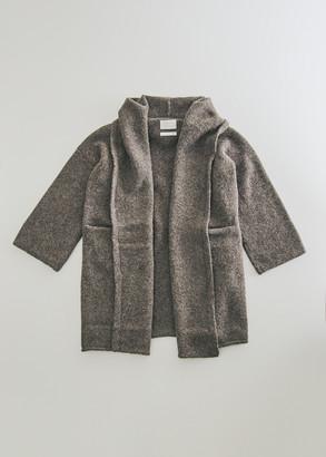 LAUREN MANOOGIAN Women's Capote Shawl Coat in Barnwood | Alpaca/Nylon