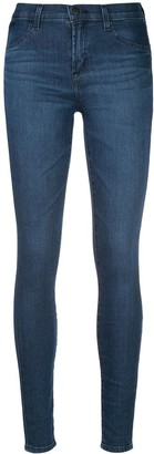 J Brand 924 Mid-Rise Super Skinny Jeggings