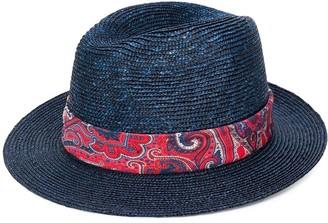 Etro paisley-print band hat