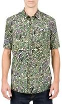 Volcom Men's Tetsunori Cotton Blend Woven Shirt