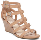 Jessica Simpson Shalon Leather Wedge Sandals