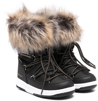 MOON BOOT KIDS Monaco snow boots