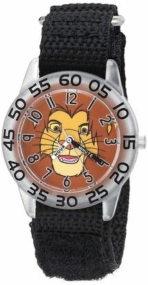 Disney Boys' Lion King Analog Quartz Watch with Nylon Strap