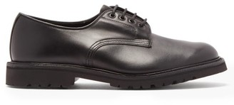 Tricker's Daniel Lugged-sole Leather Derby Shoes - Black