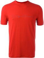 Giorgio Armani logo front T-shirt