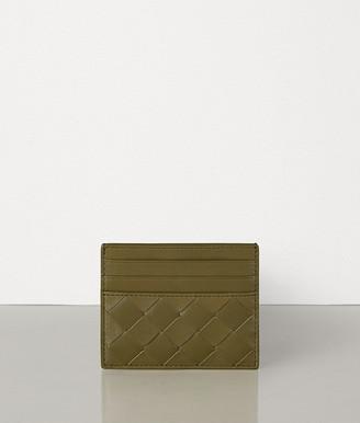 Bottega Veneta Card Case In Intrecciato Nappa