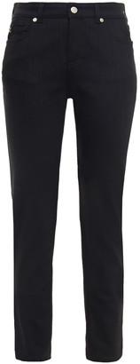 Alexander McQueen Cropped Mid-rise Slim-leg Jeans