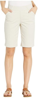 Jag Jeans Gracie Pull-On Bermuda Shorts Twill (Black) Women's Shorts