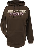 John Deere Brown 'John Deere Country' Fleece Hoodie - Plus Too