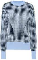 Marni Houndstooth wool-blend sweater