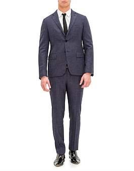 Pal Zileri Lab by 2B Sb Sv Wl Notch Lapel Flap Pkt Suit