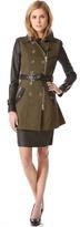 Rachel Zoe London Belted Trench Coat